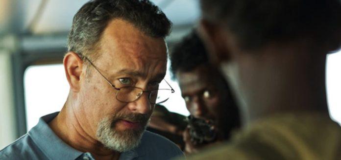Tom Hanks and Mahat M. Ali in Captain Phillips 2013