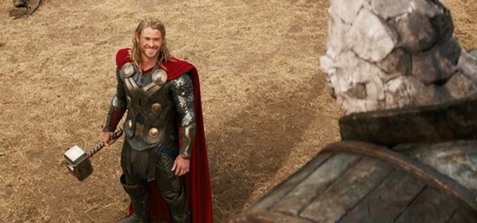 Chris Hemsworth in Thor The Dark World 2013
