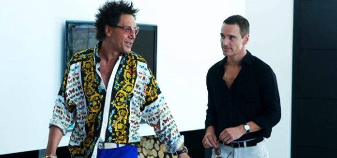 Javier Bardem and Michael Fassbender in The Counselor (2013)