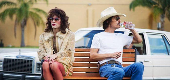 Matthew McConaughey and Jared Leto in Dallas Buyers Club 2013