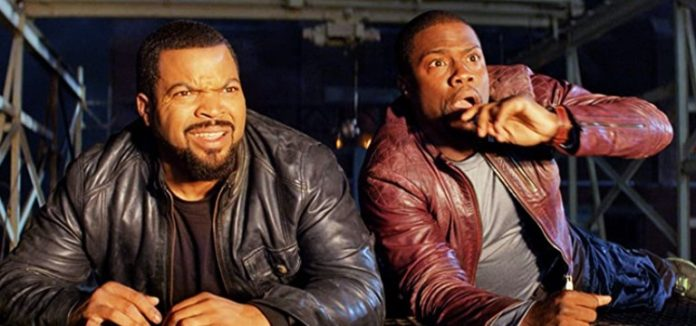 Ice Cube and Kevin Hart in Ride Along 2014