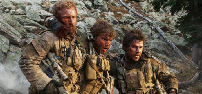 Mark Wahlberg, Ben Foster, and Emile Hirsch in Lone Survivor 2013