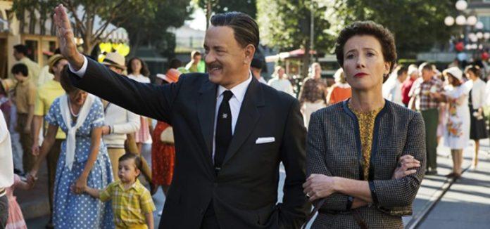 Tom Hanks and Emma Thompson in Saving Mr. Banks 2013