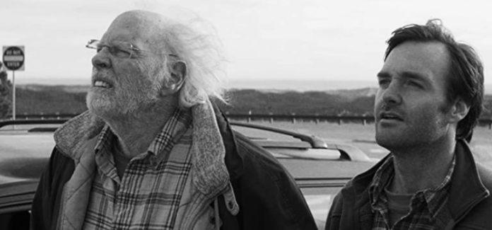 Bruce Dern and Will Forte in Nebraska 2013