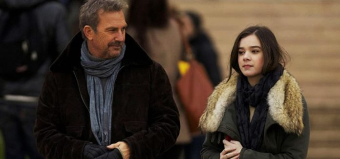 Kevin Costner and Hailee Steinfeld in 3 Days to Kill 2014