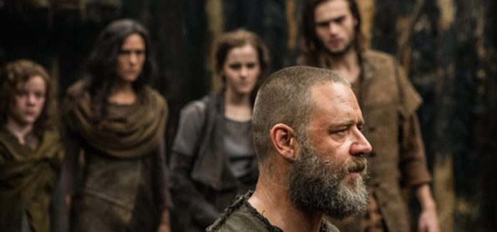 Jennifer Connelly, Russell Crowe in Noah 2014