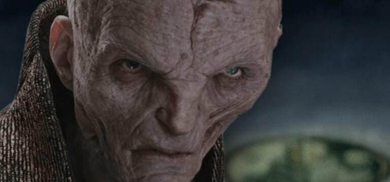 Star Wars: The Last Jedi villain Snoke